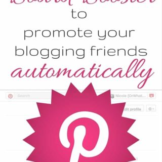 How to Use Board Booster to Promote Your Blogging Friends