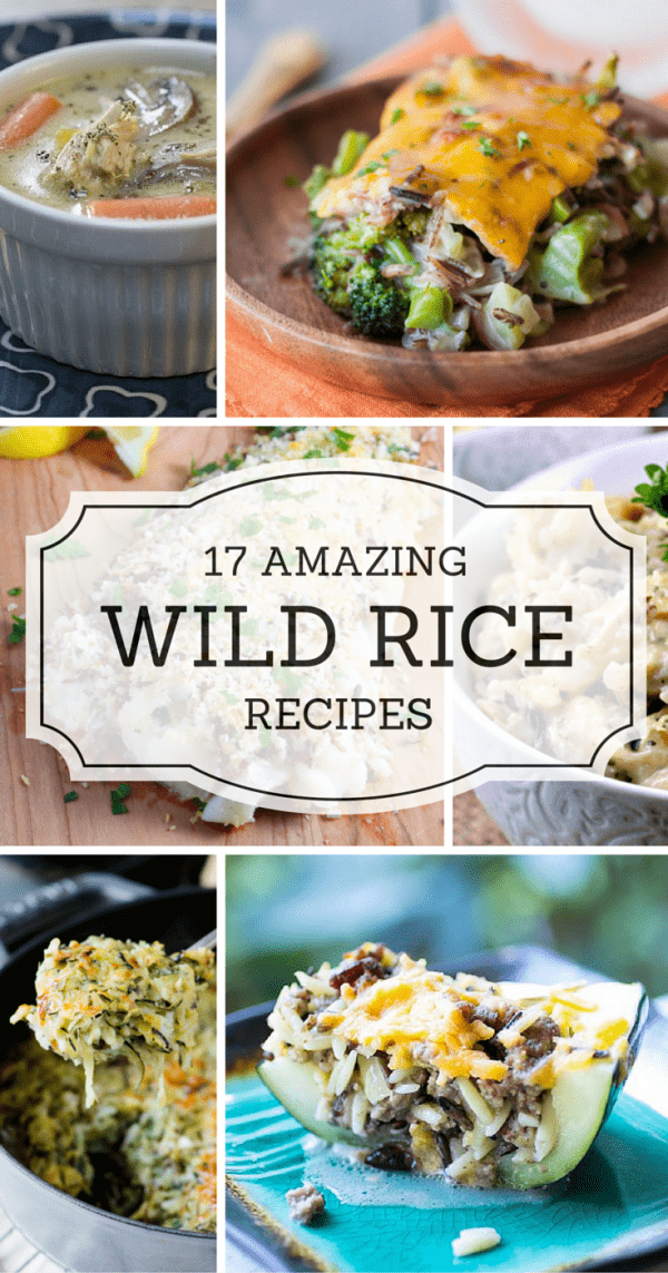 Wild rice dishes for the rest of the year!