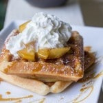 Apple Pie Spiced Waffles