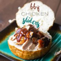 Garlic Citrus Grilled Chicken Leg Sliders