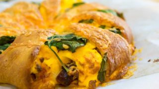 Sausage and Egg Breakfast Crescent Ring