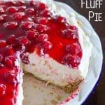 Cherry Cheesecake Fluff Pie