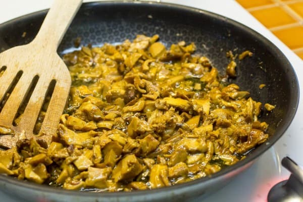 Homemade Cream of Chanterelle