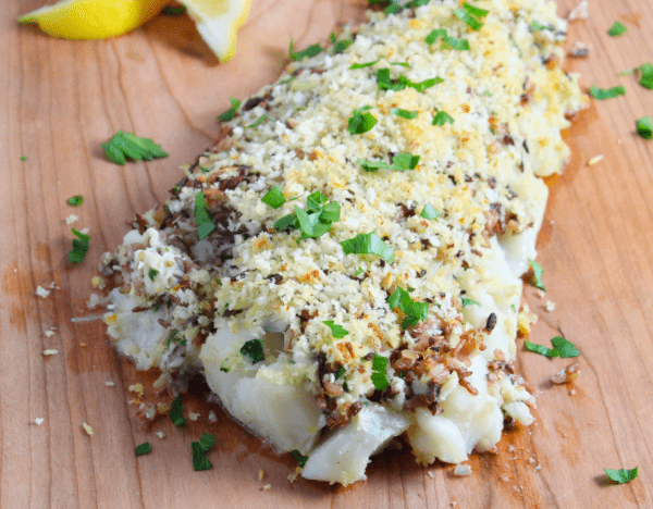 Haddock_Topped_with_Crab_and_Wild_Rice_-_sprinkles_and_sauce