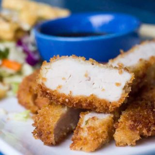 Easy 20 minute Thai Spiced Tonkatsu {recipe}