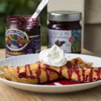 Marionberry Crepes
