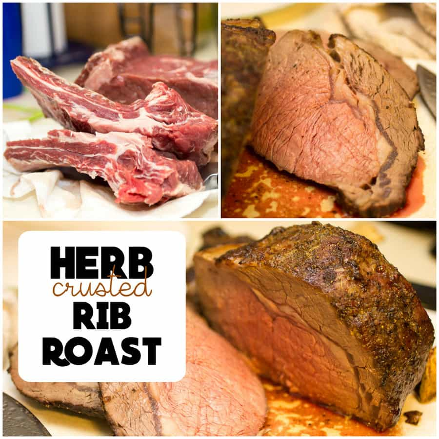 Herb Crusted Rib Roast » Or Whatever You Do