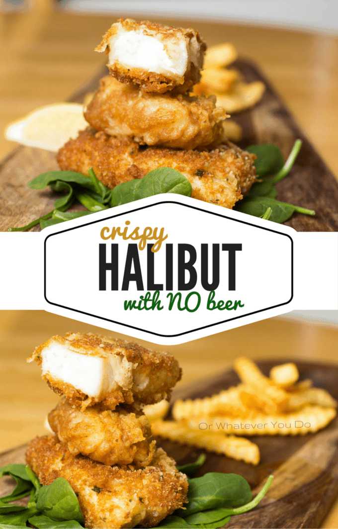 Crispy Halibut recipe