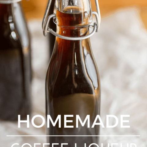 Homemade Coffee Liqueur