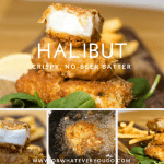 Battered Halibut