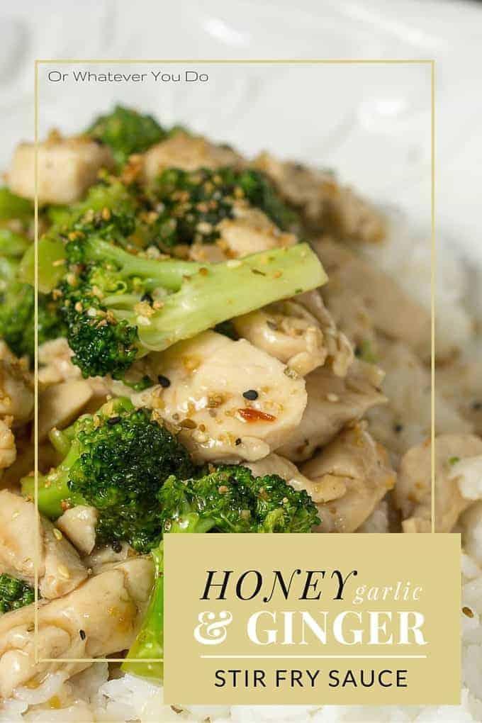 Honey Garlic Ginger Stir-Fry