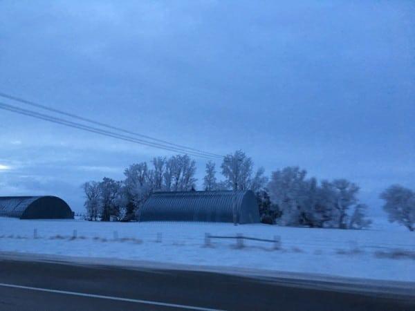 North Dakota is COLD