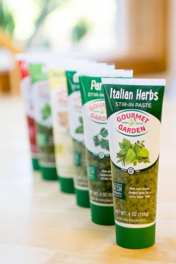 Gourmet Garden Stir-in Paste Lineup