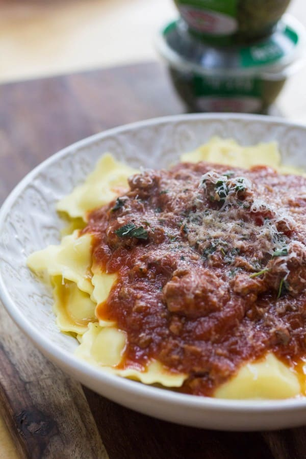 Hearty Herbed Meat Sauce