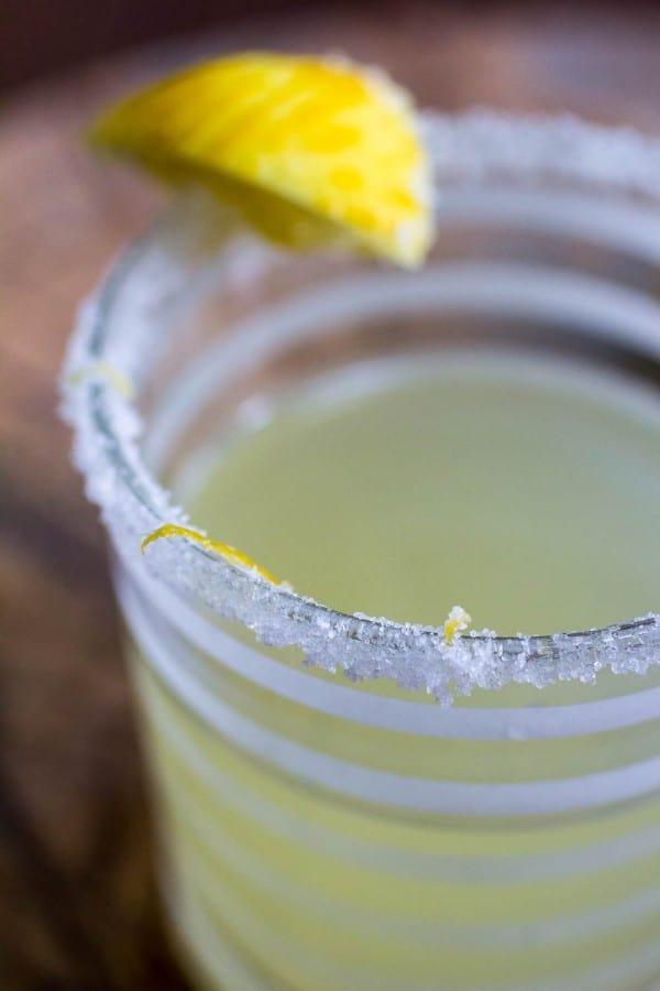 Lemongrass Lemon Drop