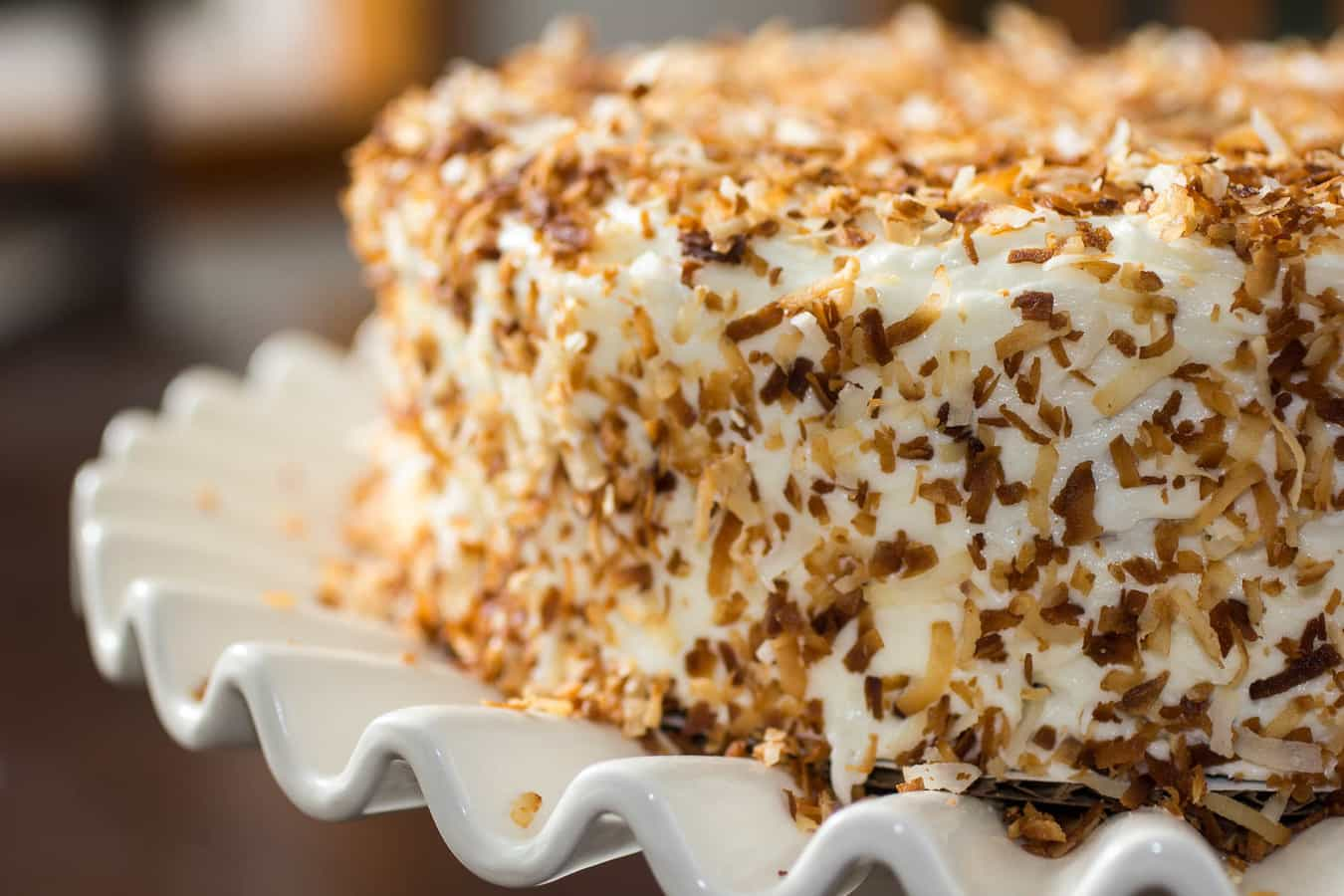 Toasted Coconut Cake Recipe Or Whatever You Do
