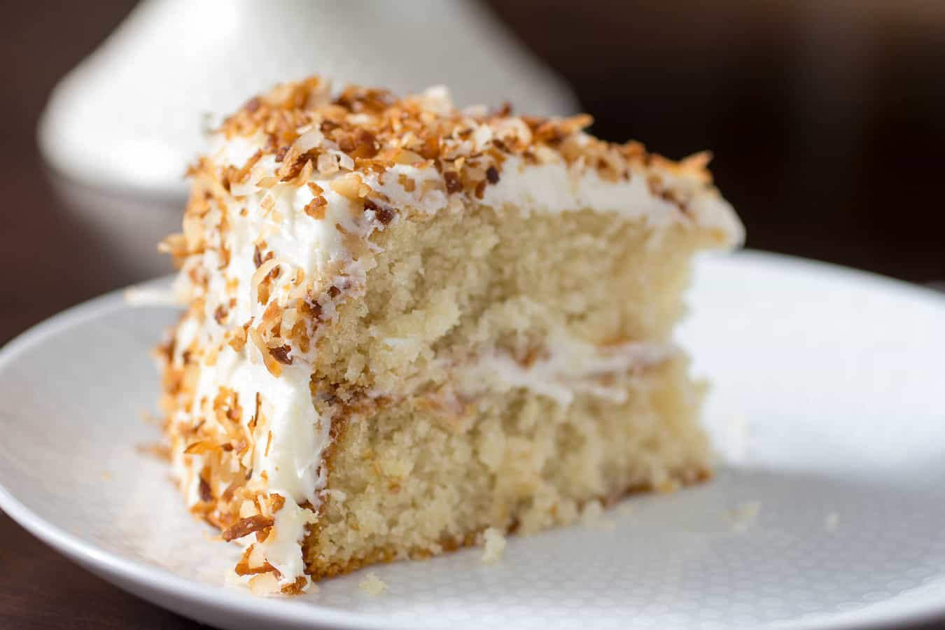Toasted Coconut Coffee Cake Recipe