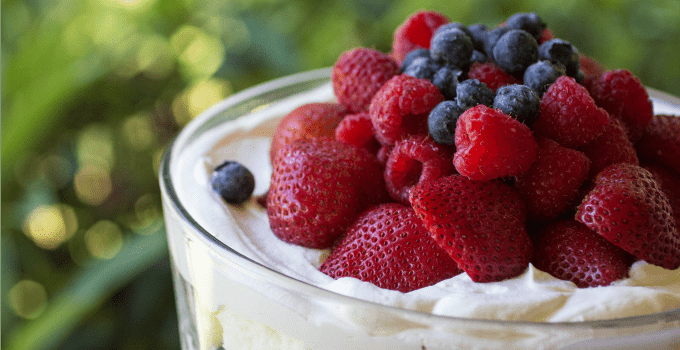 Triple Berry Trifle Picture