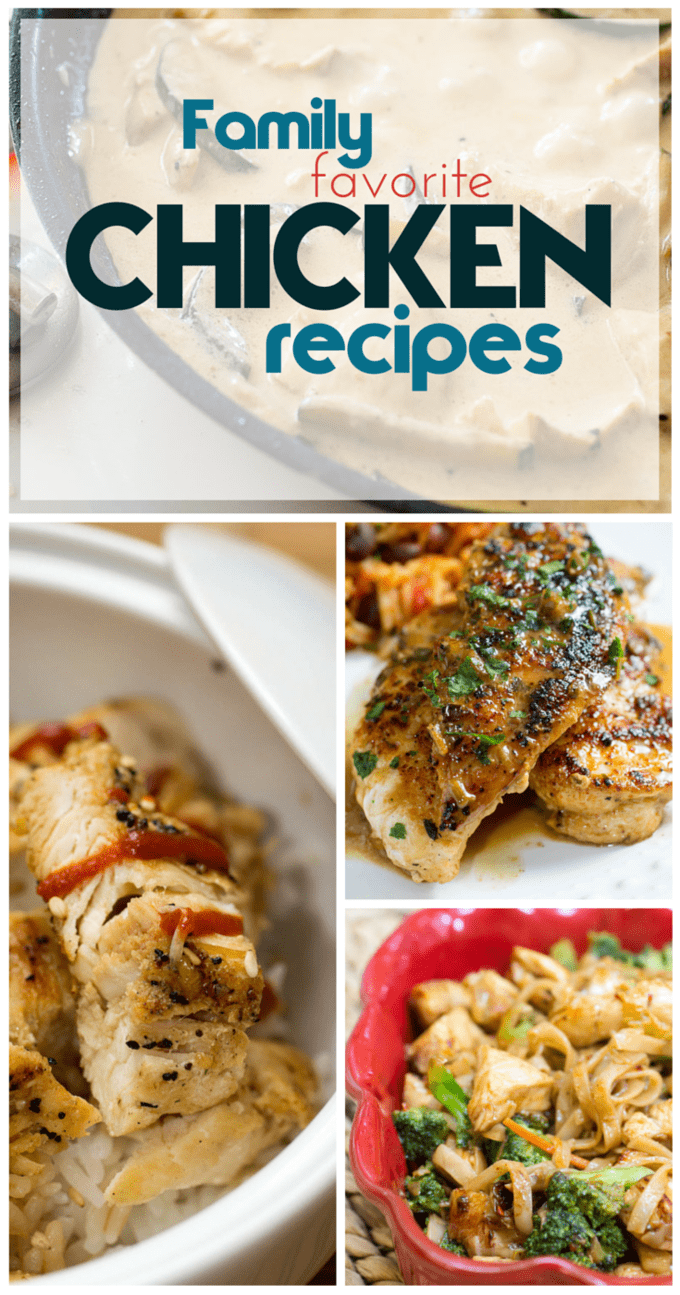 Chicken Recipes from Or Whatever You Do