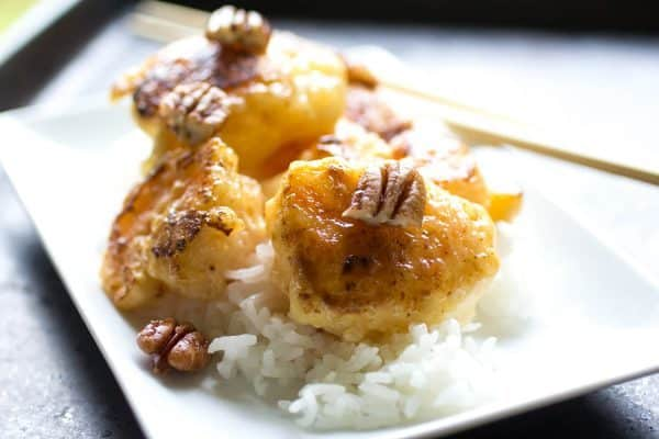 Easy homemade honey pecan shrimp - just like Panda Express!