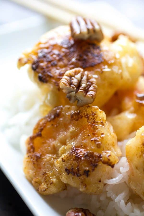 Honey Pecan Shrimp