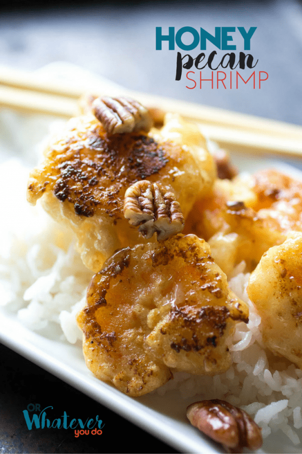 This Honey Pecan Shrimp recipe tastes JUST like Panda Express