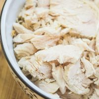 Instant Pot Shredded Chicken Breasts from Frozen