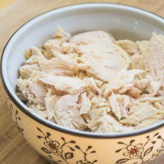 Instant Pot Shredded Chicken Breasts from Frozen