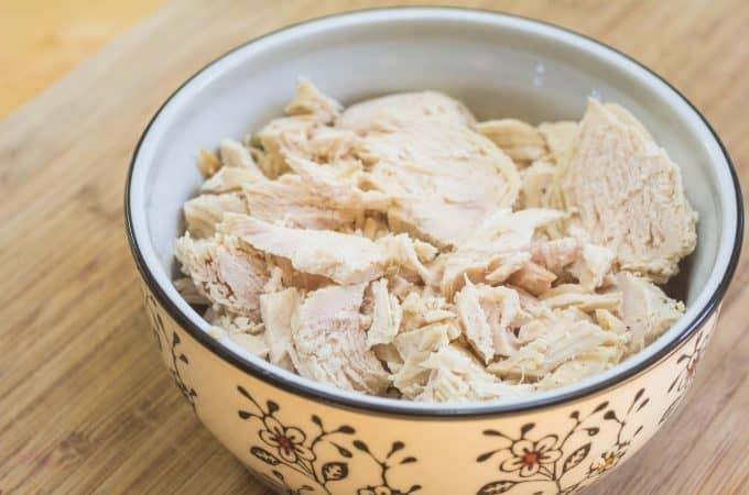 Instant Pot Shredded Chicken Breasts from FrozenInstant Pot Shredded Chicken Breasts from Frozen