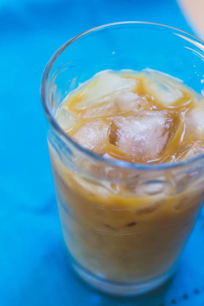 Homemade Starbucks Vanilla Sweet Cream Cold Brew Coffee