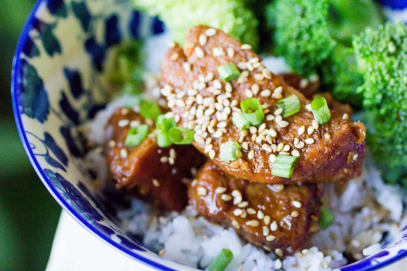 Instant Pot Pork Tenderloin Teriyaki