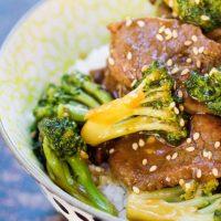 Easy Garlic Beef and Broccoli