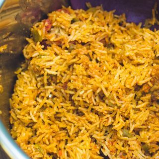 Pressure Cooker Mexican Rice