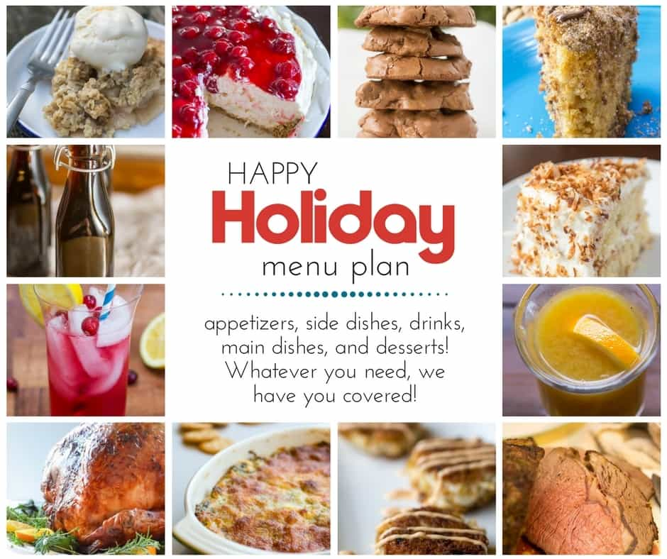 Holiday Menu Planning