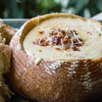 Beer Cheese Dip with Bacon