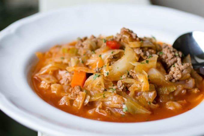 Sarma Stuffed Cabbage Roll Soup