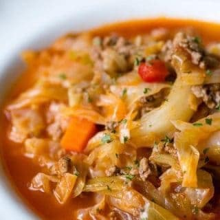 Sarma {Cabbage Roll} Soup