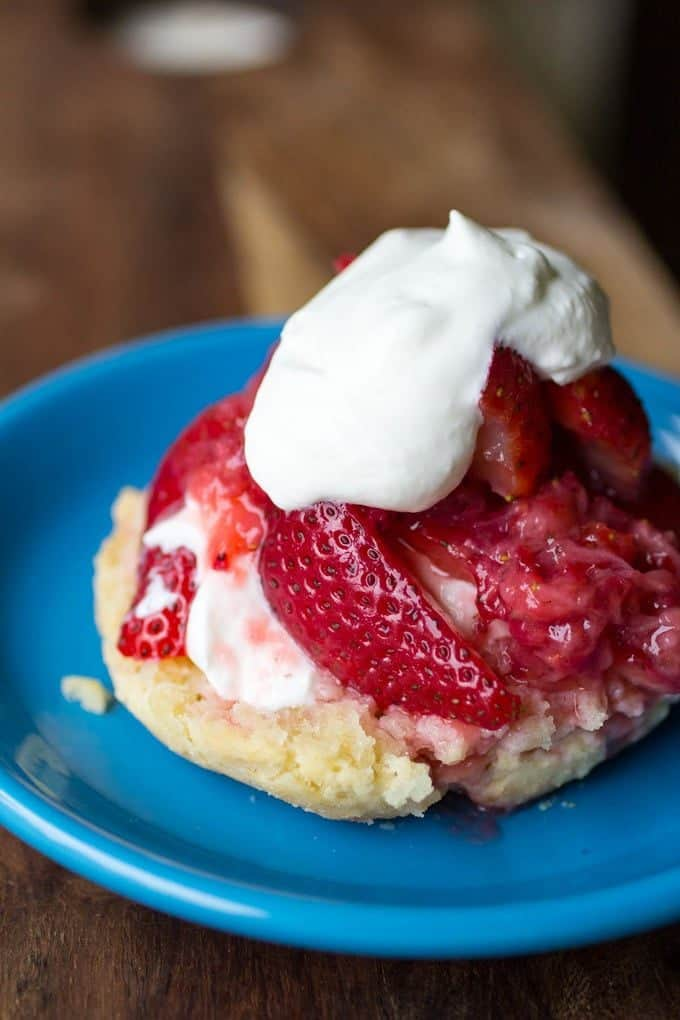 Strawberry Shortcake with Homemade Biscuits