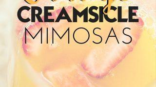 Orange Creamsicle Mimosa