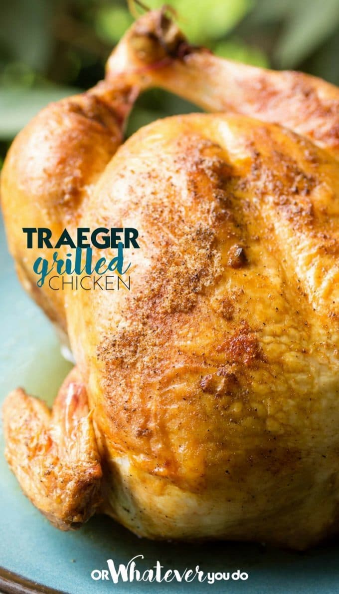Traeger Grilled Chicken