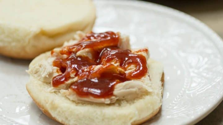 Traeger Barbecue Chicken Sandwich