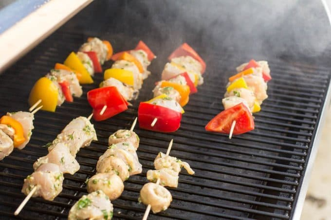 Grilled Chicken Kabobs Recipe Easy Traeger Wood Pellet