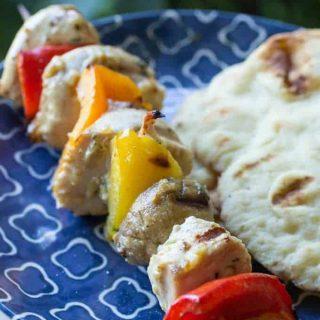 Traeger Marinated Grilled Chicken Kabobs
