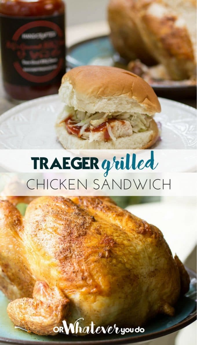Traeger Grilled Chicken Sandwich