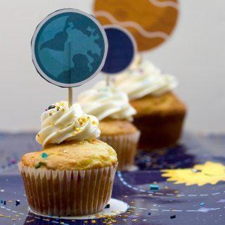 Galaxy Cupcakes