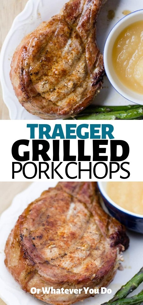 Traeger Grilled Pork Chops