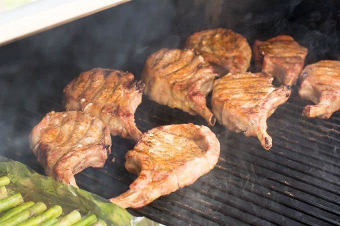 Traeger Grilled Pork Chops picture