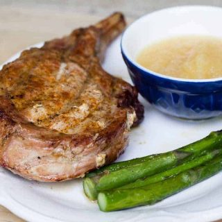 Traeger Grilled Bone-in Pork Chops