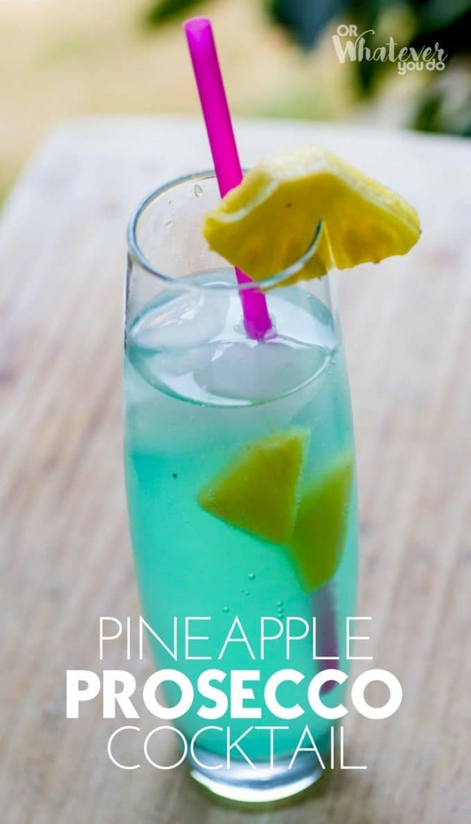 Pineapple Prosecco Cocktail