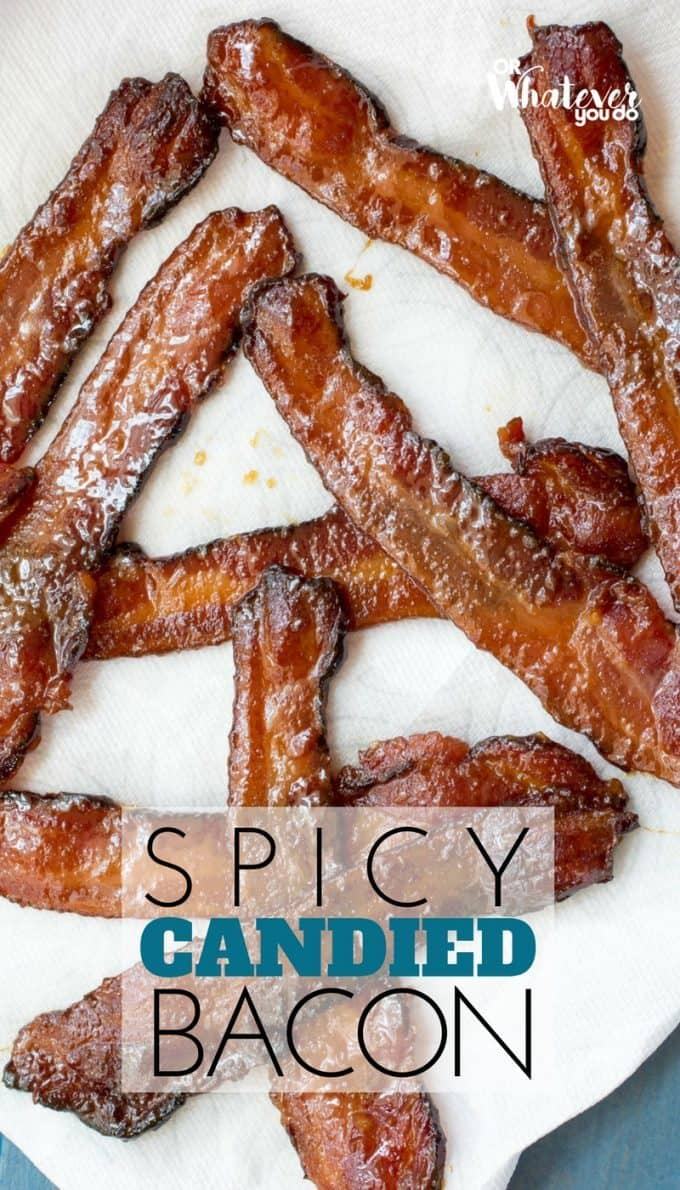 Traeger Smoked Spicy Candied Bacon » Or Whatever You Do